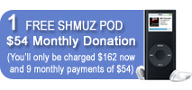 $54 Monthly Donation&lt;br&gt;
